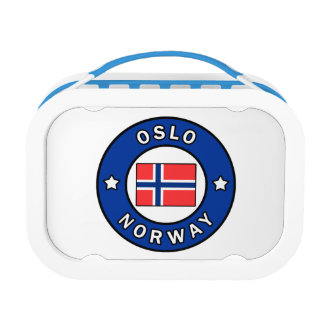 Oslo Norway Lunch Box