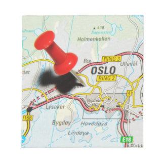 Oslo, Norway Notepad