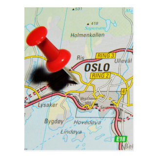 Oslo, Norway Postcard