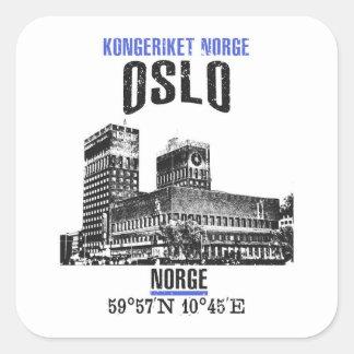 Oslo Square Sticker