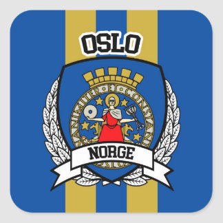 Oslo Square Sticker