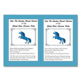 Osm The Osmium-Horned Unicorn Trading Card