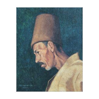 Osman Hamdi Bey Kökenoğlu Rıza Efendi Canvas Print