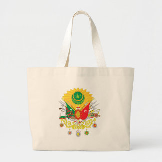 Osmanli-nisani-simple Large Tote Bag