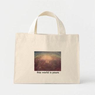 osmosis, mini tote bag