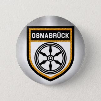 Osnabrück Flag 6 Cm Round Badge