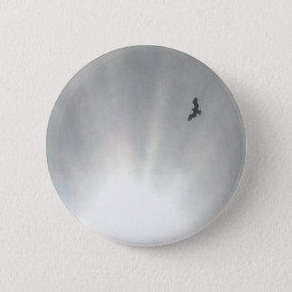 Osprey 6 Cm Round Badge
