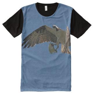 Osprey Bird Fish Animals Wildlife Flying T-Shirt