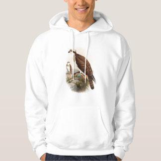 Osprey Sea Hawk John Gould Birds of Great Britain Hoodie