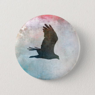 Osprey Silhouette Button