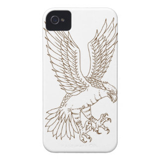 Osprey Swooping Drawing Case-Mate iPhone 4 Case