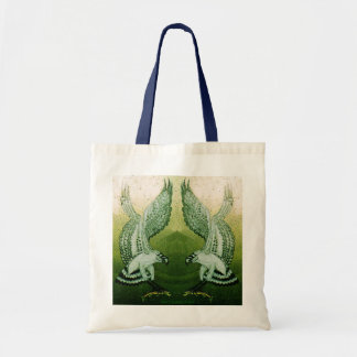 Ospreys Budget Tote Bag in Natural & Navy