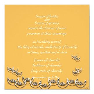osram ne nsoroma (faithfulness) beeswax 13 cm x 13 cm square invitation card