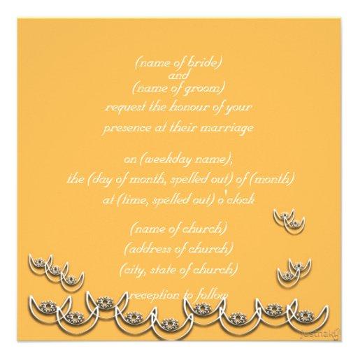 osram ne nsoroma (faithfulness) beeswax custom invitation