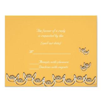 "osram ne nsoroma (faithfulness) beeswax rsvp 4.25"" x 5.5"" invitation card"