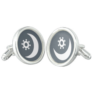 Osram ne nsoromma | love, faithfulness, harmony cufflinks