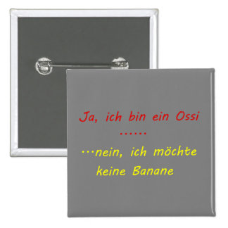 ossi banane rot,gelb buttons