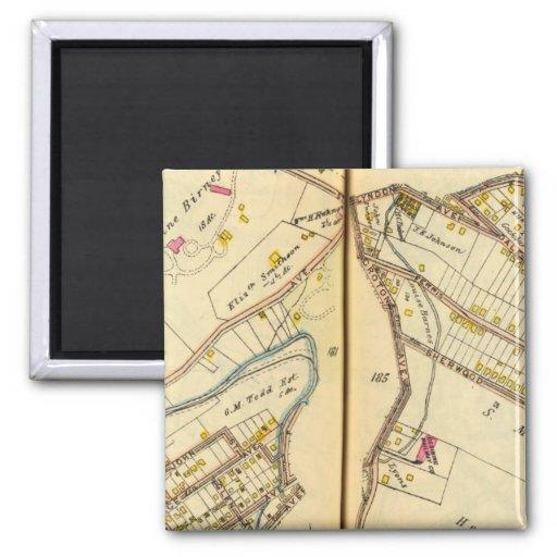 Ossining, New York 3 Fridge Magnet
