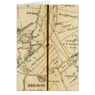 Ossining, New York Card