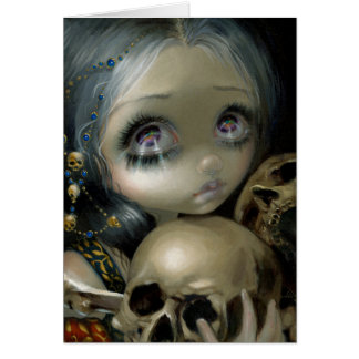"""""""Ossuary:  The Collector"""" Greeting Card"""