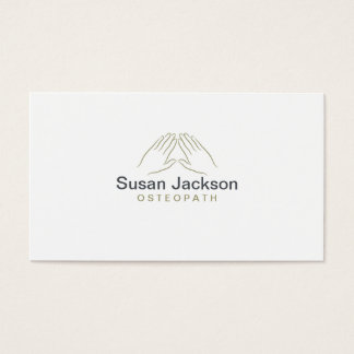 Osteopath Business Card