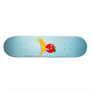 Osteopath Fruit Funny Apple Straightening a Banana Skate Board Decks