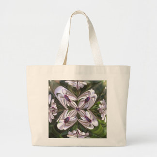 Osteospermum Abstract Canvas Bag