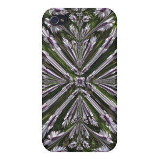 Osteospermum Abstract Covers For iPhone 4