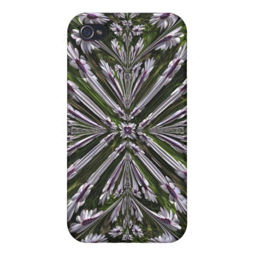Osteospermum Abstract Cover For iPhone 4