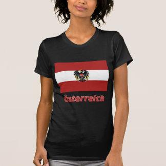 Österreich Dienstflagge mit deutschem Namen Tshirt