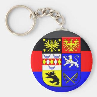 Ostfriesland Flag Gem Basic Round Button Key Ring