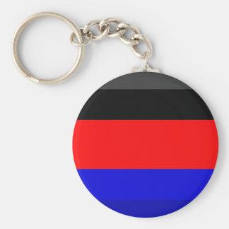 Ostfriesland Flag Gem Keychains