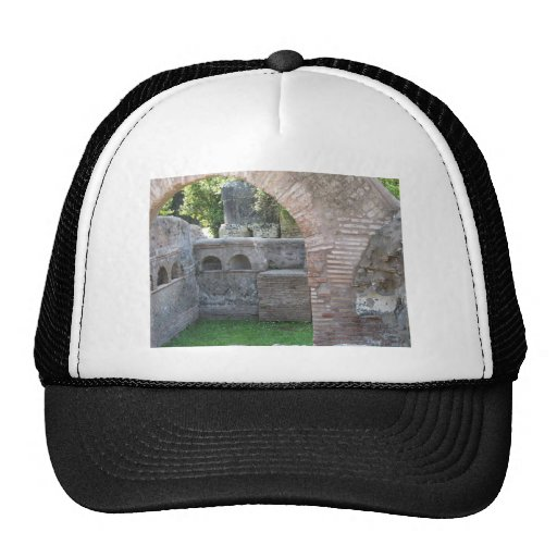Ostia Antica  - Harbour City of Ancient Rome Hat