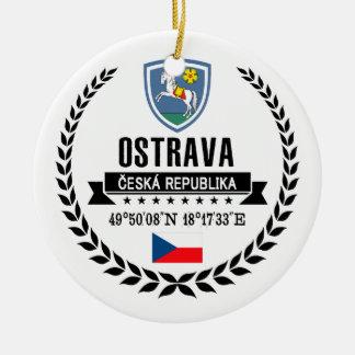 Ostrava Ceramic Ornament