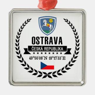 Ostrava Metal Ornament