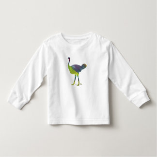 Ostrich art toddler T-Shirt
