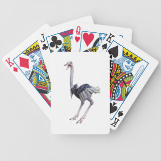 Ostrich Bicycle Playing Cards