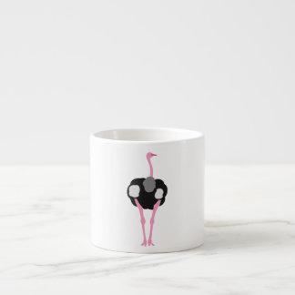 Ostrich Bird Espresso Cup