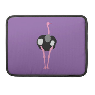 Ostrich Bird Sleeve For MacBook Pro