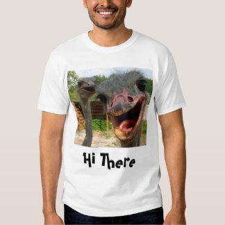 Ostrich Couple Men's Basic T-Shirt