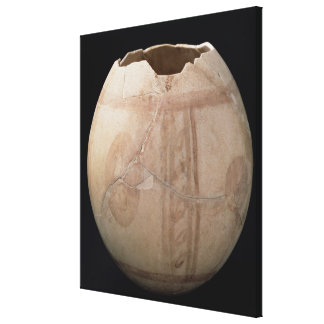Ostrich egg cut in the form of a vase from Puig de Gallery Wrapped Canvas