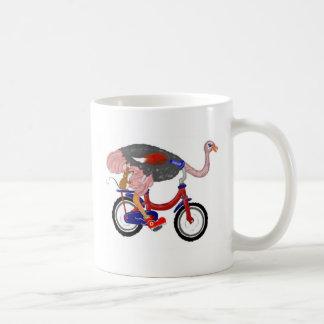 Ostrich Flight Coffee Mugs