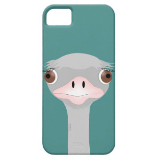 Ostrich iPhone SE + iPhone 5/5S, Barely There Phon Barely There iPhone 5 Case