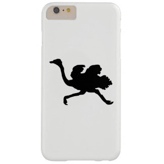 Ostrich Silhouette Barely There iPhone 6 Plus Case
