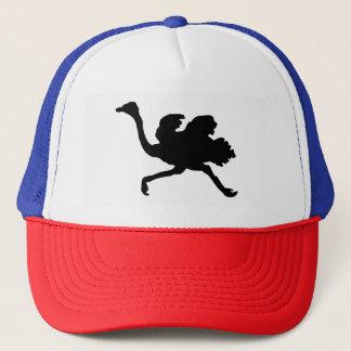 Ostrich Silhouette Trucker Hat