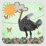 Ostrich You Are My Sunshine Sticker