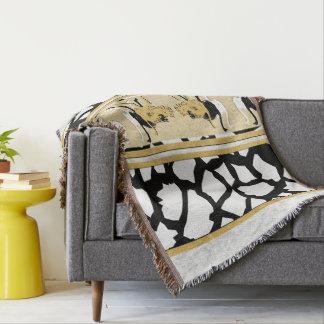 Ostriches Decorative Animal Throw Blanket