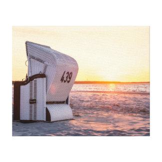 Ostsee sunset canvas print