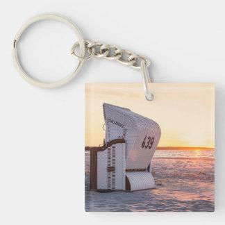 Ostsee sunset key ring