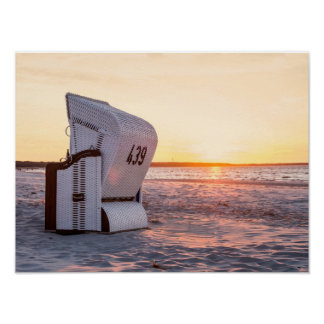 Ostsee sunset poster
